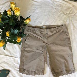 J Crew Bermuda Shorts